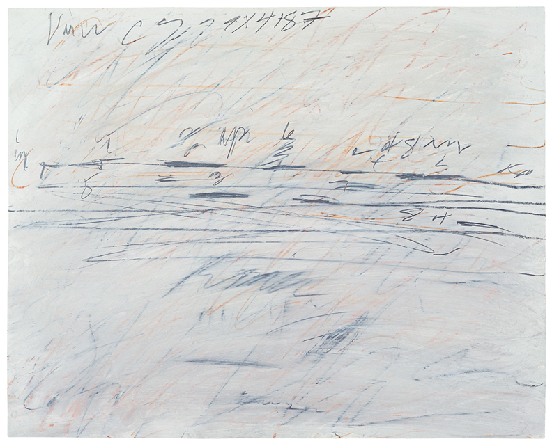 cy twombly essay Last week, the musée du louvre introduced its newest acquisition, a 3,750-square-foot ceiling painting created by cy twombly to hang in the salle de bronzes to get to it, you work your way.