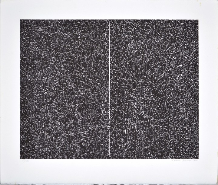 Bruce Conner, #114, 1970, offset lithograph on paper, 8 ½ x 11 inches (21.6 x 27.9 cm). University at Buffalo Art Galleries: Gift of the David K. Anderson Family, 2000. © 2014 Artists Rights Society (ARS), New York / Photo: UB Art Galleries